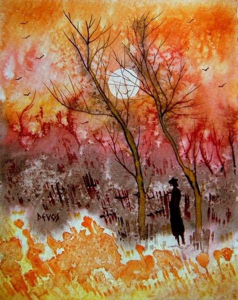 rêverie dans aquarelle reverie18x141
